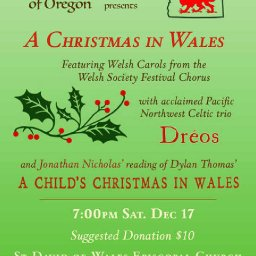 Welsh Society of Oregon: A Christmas in Wales