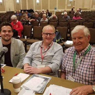 Eisteddfod adjudicators in Washington, DC 2018