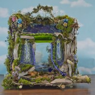 Door Into Fae Fairy House, front view