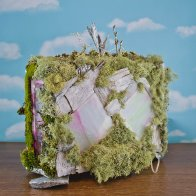 Mouse Girl's Fairy House, back view