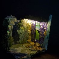 Djinn Dream Fairy House, dark view