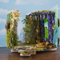 Djinn Dream Fairy House, front view