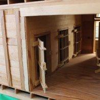 Shaniko City Hall Model - Jail Cells