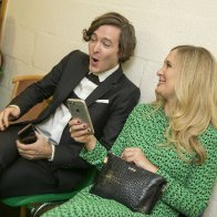 Alexander Vlahos & Amy Morgan BAFTA Cymru 2015