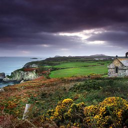 A Pilgrims Walk from St Nons Chapel
