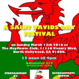 A Saint David's Day Festival - The Welsh Leaugue of Southern California