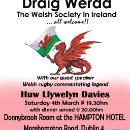 2017 St David's Day Dinner, Draig Werdd, The Welsh Society In Ireland