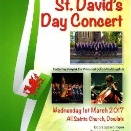 Dowlais Male Voice Choir - St David's Day Concert