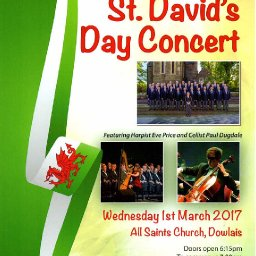 Dowlais Male Voice Choir - St David's Day Concert