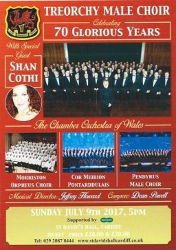 Treorchy Male Voice Choir - Celebrating 70 Glorious Years
