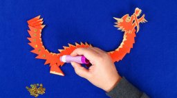 Draw on your creative talents and join Oriel y Parc's Digital Dragon Parade