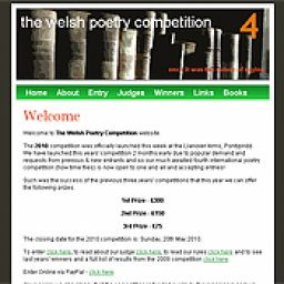 Welsh Poetry Competition 2010