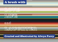 A Brush With Life, Love & Laughter by Alwyn Parry