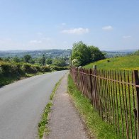 looking_back_talgarth_from_road_to_pwll_y_wrach
