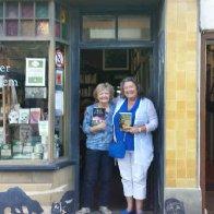 At Hay's famous Murder & Mayhem book shop