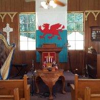 Bryn Seion Welsh Church, interior