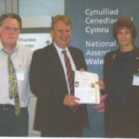 Gareth Westacott, Rhodri Thomas and Gwenno Daffyd