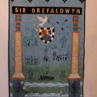Baner Sir Drefaldwyn