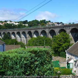 Hengoed Viaduct at Maesycwmmer