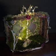 Mouse Girl's Fairy House, dark view