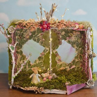 Mouse Girl's Fairy House, front view