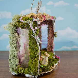 Mouse Girl's Fairy House, side view
