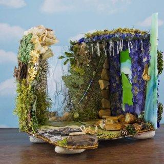Djinn Dream Fairy House, front view