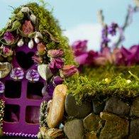 Rose Glen Fairy House, detail