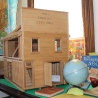Shaniko City Hall - Model