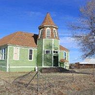 Old School House - Shaniko, Oregon