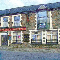 Prince of Wales, Treorchy high street