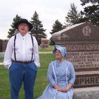 Cemetery crawl, Wymore, Nebraska