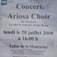 Paris 2008 Poster