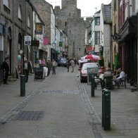 Stryd y Plas (Palace Street), Caernarfon