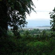 Y Foryd o Blas Dinas, Bontnewydd