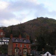 Castell Dinas Bran Overlooking Llangollen