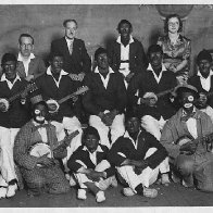cwm plantation merry makers ministral troupe  1937