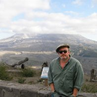 Niall Griffiths at Mt St. Helens