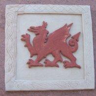 Welsh dragon - Porth Madryn