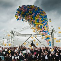 _DSC8216 UP AND AWAY...LLANGOLLEN FESTIVAL CELEBRATES REFURBISHED PAVILION WITH A SPECTACULAR BALLOON RELEASE