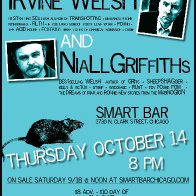 Niall Griffiths and Irvine Welsh in Chicago