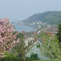 Mumbles Lighthouse in May