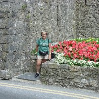 Outside Tenby Town Wall
