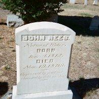 John Rees Tombstone - Hornbrook CA