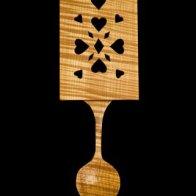 Traditional panel spoon