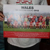 Wales Six Nations 2012 Poster