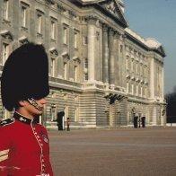 Buckingham Palace forcourt 1981