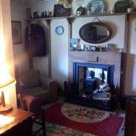 Interior of 1940s cottage