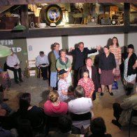 The Laugharne Players Perform Under Milk Wood in April 2011
