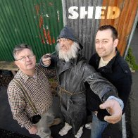 Tin Shed's Captain Cat Under Milk Wood (l-r) Andrew Isaacs & Matthew Hughes